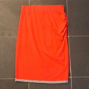 NWT CAbi Knit Reversible Tube Skirt XSmall XS